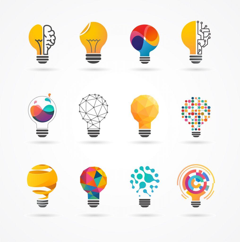 Light,Bulb,-,Idea,,Creative,,Technology,Icons