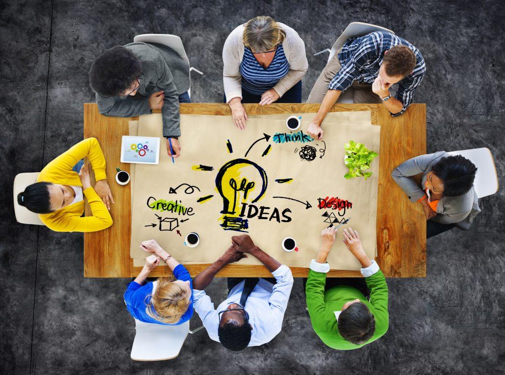 Multi-ethnic,Group,Of,People,Planning,Ideas
